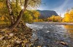 Осенние краски реки Чулышман