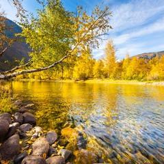 Осень в долине реки Чулышман