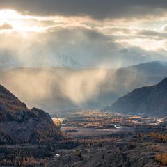Северо-Чуйский хребет и Долина реки Чуя