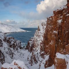 Гранитные берега Арктики