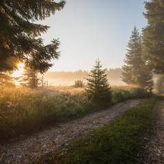 Туманное Утро в Жабляке