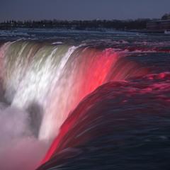 Огни ниагарского водопада