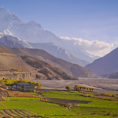 Кагбени. Нижний Мустанг. Непал.
