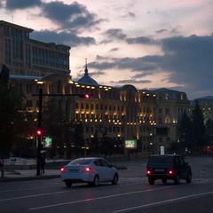 Городской рассвет. г.Баку