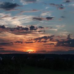 Ещё раз про вечернее небо...