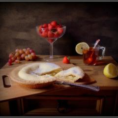 Яблочный пирог...