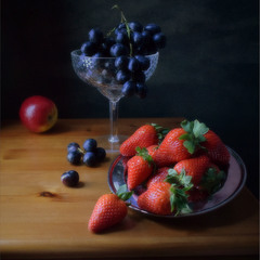 Натюрморт с фруктами...