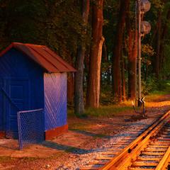 Дитяча залізниця в Стрийському парку