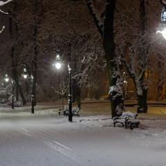 Зимовий парк Івана Франка