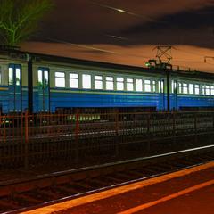 Поїзд приїхав