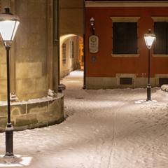 Вірменський дворик взимку
