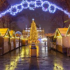 Львівський новорічний ярмарок