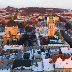 Зимовий вечір у Львові