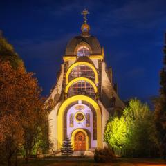 Церква Бориса і Гліба в парку Боднарівка