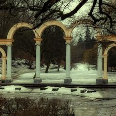 Вхід у Стрийський парк