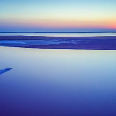Закат на Арабатке