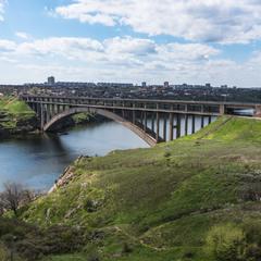 Міст Преображенського острів Хортиця