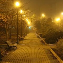 На місто наступає туман