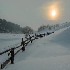 А зима не відступає!
