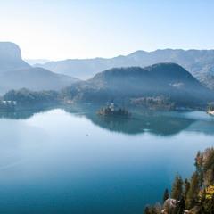 о. Блед Словенія