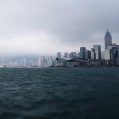 Сумерки в Гонконге..