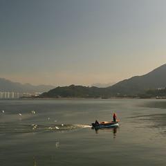 Утро возле Гонконга