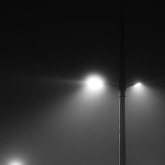 Фонарь и ночь..