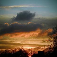 Небо из моего окна))
