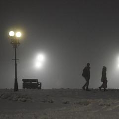 Под холодною властью тумана...