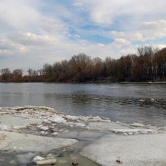 Освободившаяся ото льда Десна