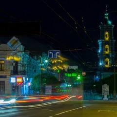 Отблески ночного города