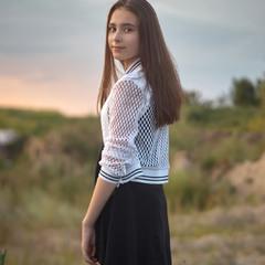 Ще один портрет гарненької моделі
