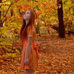 Загубилася в осінній казці