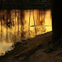 ...вечером у озера...