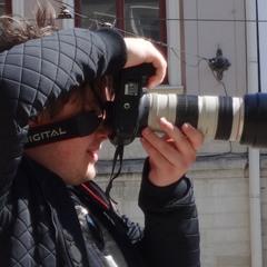 ...фотограф в деле...