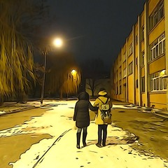 ...вечерняя прогулка...