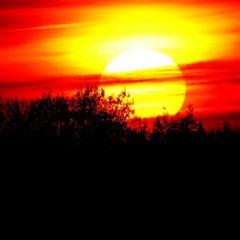...закат...