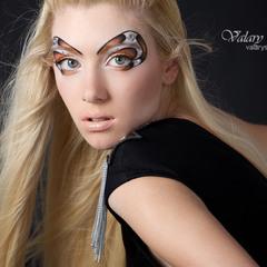 мои тренировки в макияжах ( подиум )