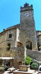 Спека. Село Portaria з середньовічною архітектурою в Умбрії