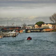 Вид з моста Конституції в Венеції