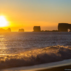 Исландия. Мыс Дирхолаэй