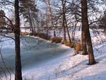 Замёрзло озеро, замёрзли мои сны..