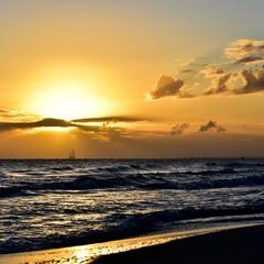 Рассвет на Средиземноморье