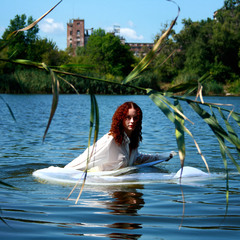 Mermaid`s  lake