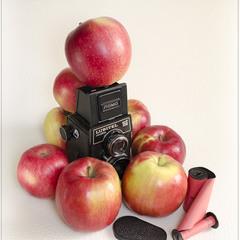 Когда яблоки были большими ...