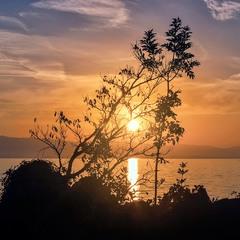 Схід сонця на Адріатиці