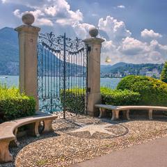 Врата озера на замке или редкая бабочка долетит до середины Лугано!