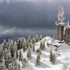 Снег кружится, летает...