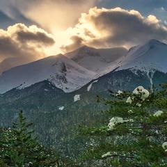 Освещенные вершины