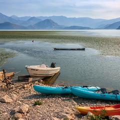 На Скадарском озере